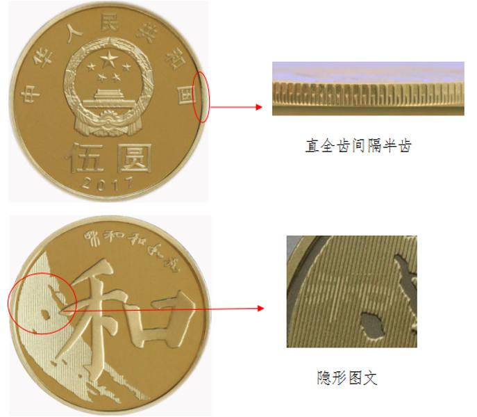 和字币公众防伪特征是怎样的 怎么辨别真假和字币